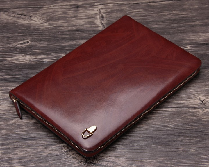 top leather conference folder