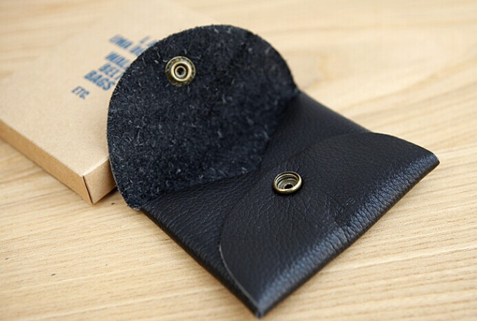 personized leather coin pouch